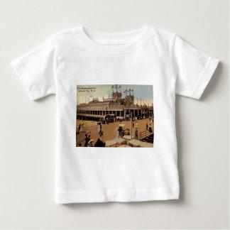 Steeplechase Pier, Atlantic City 1914 Vintage Baby T-Shirt