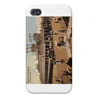 Steeplechase Pier, Atlantic City 1914 Vintage iPhone 4/4S Case