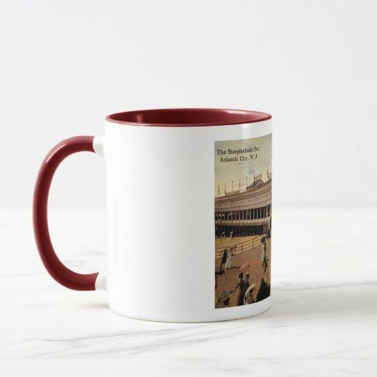 Steeplechase Pier, Atlantic City 1914 Vintage Mug
