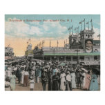 Steeplechase Pier, Atlantic City 1915 Vintage Posters