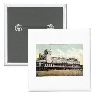 Steeplechase Pier, Atlantic City NJ 1909 Pinback Button