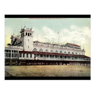 Steeplechase Pier, Atlantic City NJ 1909 Postcard