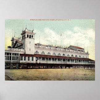 Steeplechase Pier, Atlantic City NJ 1909 Poster