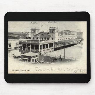 Steeplechase Pier Atlantic City Vintage 1904 Mouse Pad