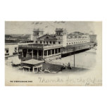 Steeplechase Pier Atlantic City Vintage 1904 Poster