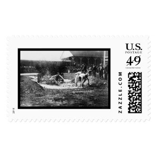 Steeplechase Track Race 1912 Stamps