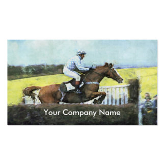 Steeplechaser business card