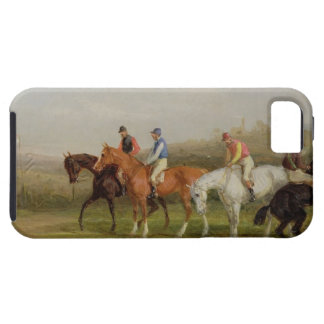 Steeplechasing: At the Start (oil on canvas) iPhone SE/5/5s Case