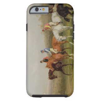 Steeplechasing: At the Start (oil on canvas) Tough iPhone 6 Case