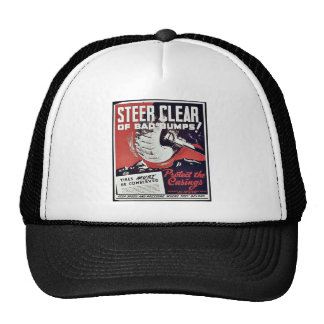 Steer Clear Of Bad Bumps Trucker Hats