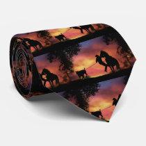 Steer Roping Tie