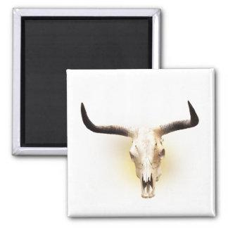 Steer Skull Fridge Magnets
