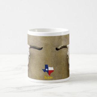 steer skull Texas Coffee Mug