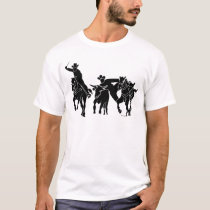 Steer Wrestling 1 T-Shirt