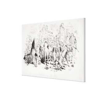 Steerforth and Mr. Mell Canvas Prints