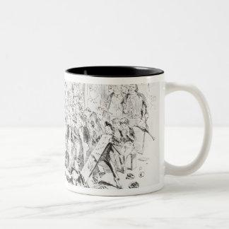 Steerforth and Mr. Mell Coffee Mug