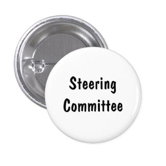 Steering Committee Pinback Buttons