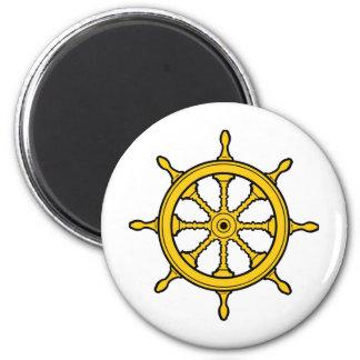 steering wheel 2 inch round magnet
