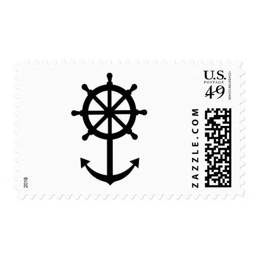 Steering wheel anchor postage
