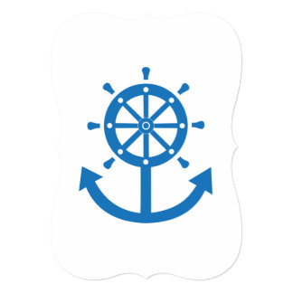 Steering wheel and anchor card