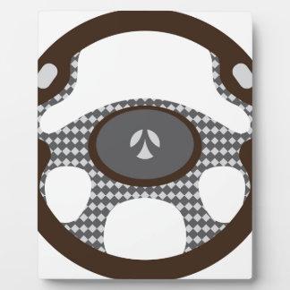 Steering Wheel Plaque