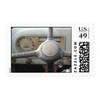 Steering Wheel Postage Stamp