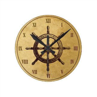 Steering Wheel Wall Clock