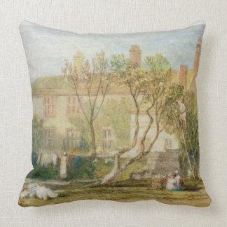 Steeton Manor House, near Farnley, c.1815-18 (w/c Pillow