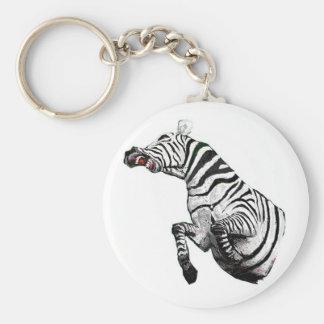 Steevn_zebra2 Keychain