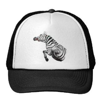 Steevn_zebra2 Trucker Hat