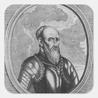 Stefan Czarniecki, Polish general Square Sticker
