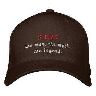 Stefan la leyenda gorras de beisbol bordadas