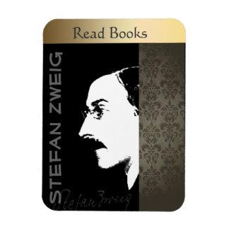 Stefan Zweig Rectangular Photo Magnet