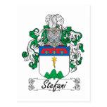 Stefani Family Crest Post Cards