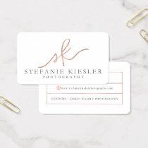 Stefanie Kiesler Photography Business Card