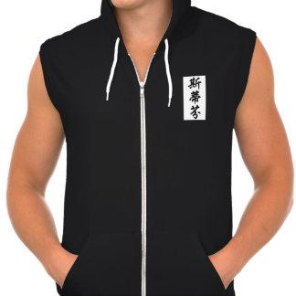 steffen hooded pullover