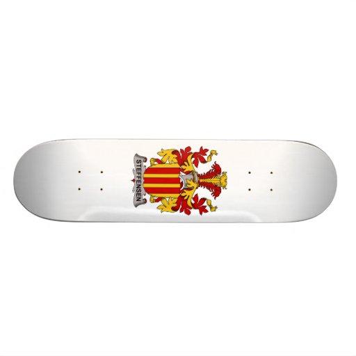 Steffensen Family Crest Skate Board Deck