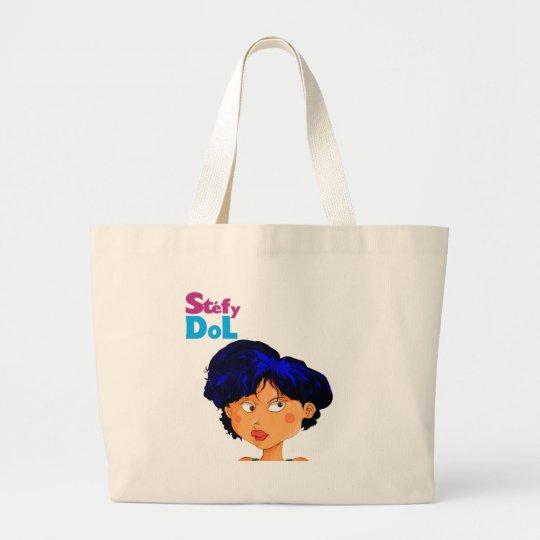 stéfy dol large tote bag