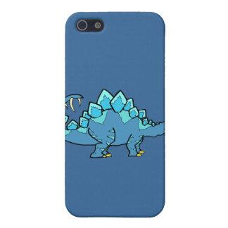 Stegasaurus azul iPhone 5 funda