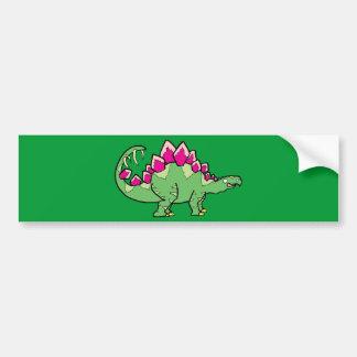 Stegasaurus Bumper Stickers