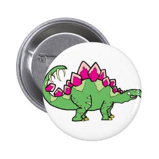 Stegasaurus Pinback Buttons