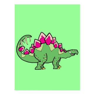 Stegasaurus Post Card
