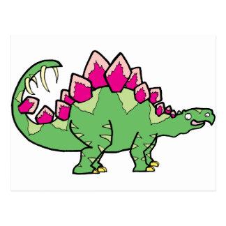 Stegasaurus Postcard