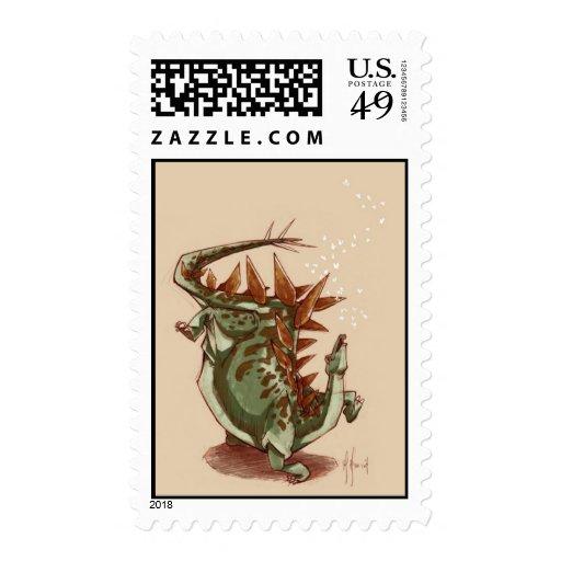 Stego Dance Stamp