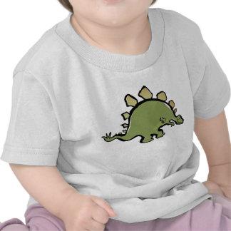 stegosaur feliz camisetas
