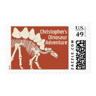 Stegosauras Dinosaur Bones Postage