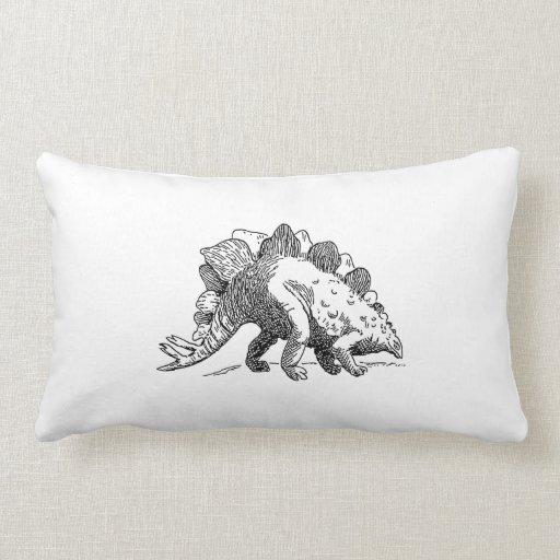 Stegosaurus Almohadas