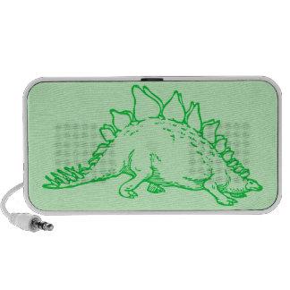 Stegosaurus Altavoces De Viaje