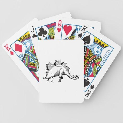Stegosaurus Baraja Cartas De Poker