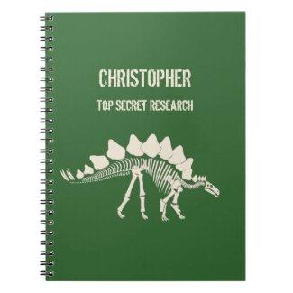 Stegosaurus Bones Dinosaur Dig Notebook